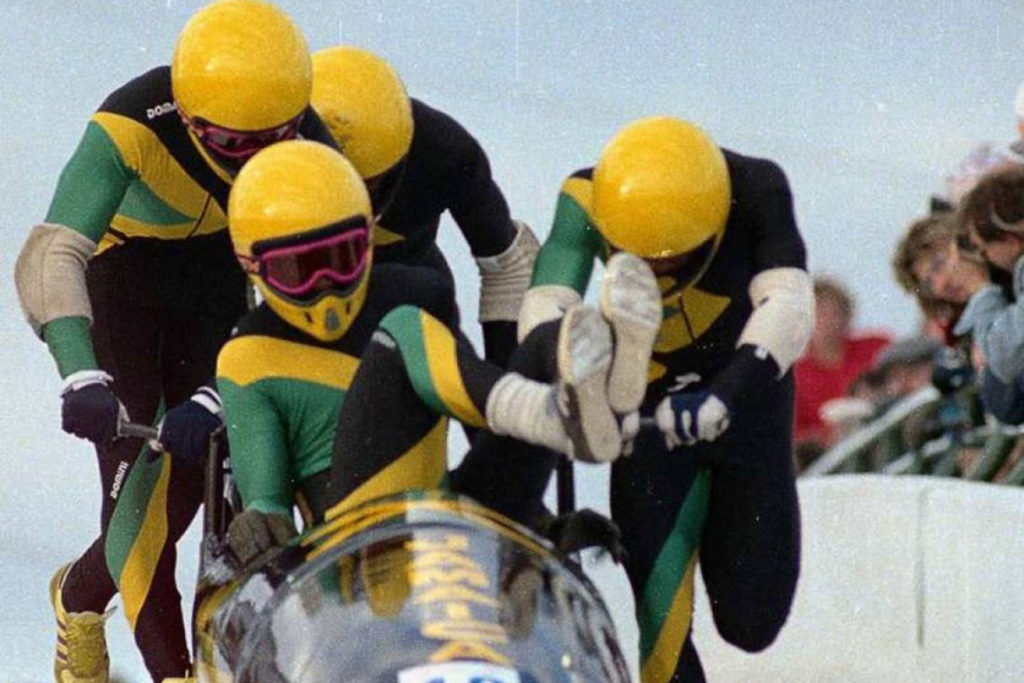 Cool Runnings: Devon Harris and Chris Stokes